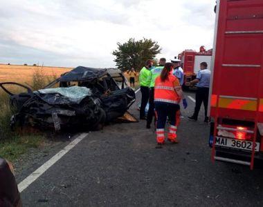 VIDEO | Constanţa: Trei persoane au murit şi patru au fost rănite, într-un accident...