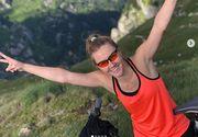 Larisa Vasile, nouă aventură extremă după Exatlon! A urcat la Vf Omu cu bicicleta