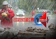 E alertă de vreme severă în mai multe județe din țară! Ploile torențiale au făcut deja prăpad - Capitala este sub ape