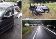 Un tânăr a murit, alţi doi, grav răniţi într-un accident cumplit la Avrig