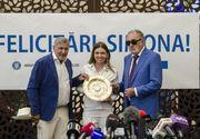 Simona Halep a revenit în țară! Imaginile de aur ale tenisului românesc: Marea campioană, întâmpinată de Ion Țiriac și Ilie Năstase - FOTOREPORTAJ