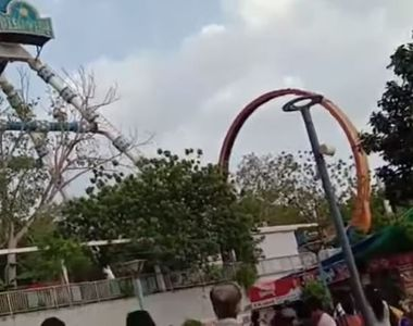 Accident terifiant la un parc de distracţii. Doi morţi şi zeci de răniţi