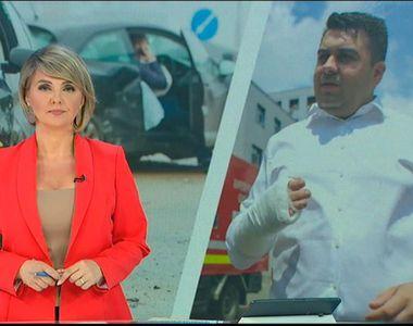 VIDEO | Răzvan Cuc, primele declarații după accident! Ce făcea în momentul impactului:...