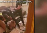 VIDEO | Un recidivist extrem de violent și-a atacat vecinii cu maceta! Scene de groază la Brăila