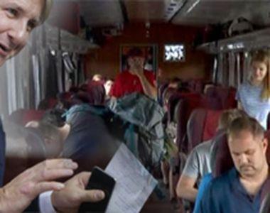 VIDEO   Studentii pierd gratuitatea la tren! Vestea proastă venită de la Ministrul...