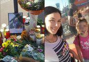 Geanina a căzut pe stradă la Viena și a murit! Avea 30 de ani și o fetiță superbă! Ce a pățit românca