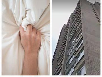 Un cuplu a căzut de la etajul nouă în timpul unei partide de sex. Femeia a murit pe loc