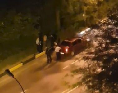 Scandal pe o stradă din Prahova. Unul dintre scandalagii era gol-pușcă