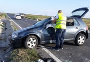 Patru victime în urma unui accident rutier produs de un şofer beat