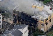 Japonia: Cel puţin 10 persoane au murit după ce un bărbat a dat foc la sediul unui studio de animaţie în Kyoto