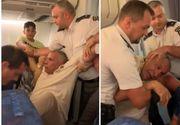 Scandal cu pumni și urlete la bordul unui avion Tarom. Reacția companiei - VIDEO