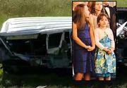 Trei surori românce, 6, 7 şi 8 ani, au murit într-un groaznic accident. Mama lor era la volan