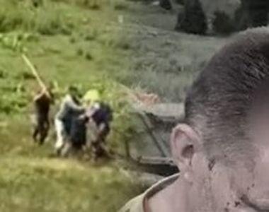 VIDEO | Belgian bătut de ciobani