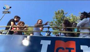 VIDEO | Imagini inedite din Constanța! Simona Halep a fost ovaționată la scena deschisă, astăzi, în orașul natal