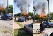 Incendiu puternic la o grădiniță din Brăila