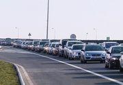Trafic aglomerat pe sensurile către Capitală ale autostrăzilor A2 Bucureşti-Constanţa şi A1 Piteşti-Bucureşti! Pe unele tronsoane se circulă în coloană