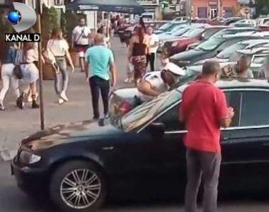 VIDEO | Momente de panică la Găești, după ce un copil a rămas bocat în mașină! Timp de...