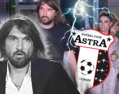 Dan Alexa și-a dat demisia de la Astra, după ce Anamaria Prodan i-a dat un pumn în...