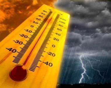 Vin furtunile în Capitală! După caniculă vremea se schimbă din nou