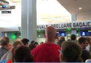 VIDEO   Haos în aeroport! Sute de pasageri au fost blocați la intrarea în țară
