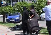 VIDEO   Două măicuțe au făcut un scandal monstru pe o stradă din Vaslui