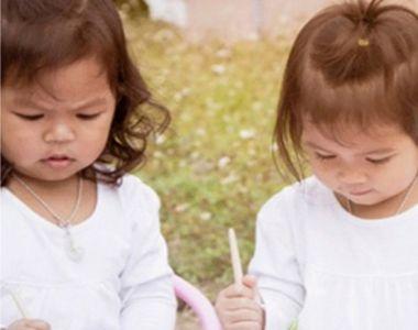 Cum arată gemenele născute din tați diferiți