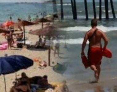 VIDEO | Un turist aflat pe litoral a refuzat ajutorul salvamarului. Cum și-a explicat...