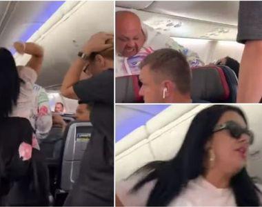 Criză de gelozie în avion: o pasageră şi-a lovit iubitul cu laptopul în cap
