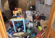 Imagini din casa groazei. Uite cum arăta locuința criminalului Gheorghe Dincă