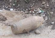 Bombă de 100 de kilograme descoperită în Mehedinți
