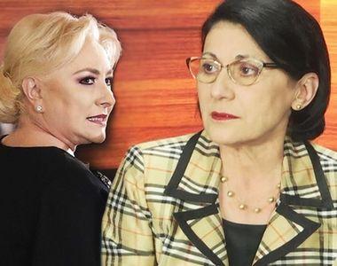 Dăncilă a demis-o pe Ecaterina Andronescu din funcţia de ministru al Educaţiei