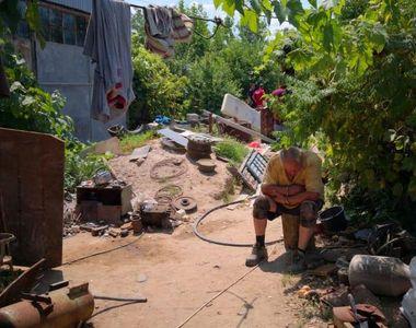 """Vecinul lui Gheorghe Dincă: """"Am simţit miros de cârpă arsă. I-am cerut betoniera şi..."""