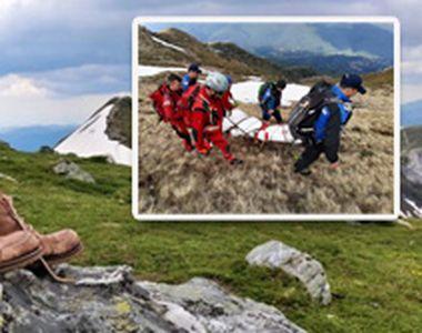 VIDEO | Turist rătăcit în Bucegi. Datele GPS i-au ajutat pe salvamontiștii din Bușteni...
