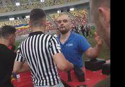 Ion Oncescu, fantastic pe Arena Națională! A făcut skandenberg cu doi bărbați simultan și i-a învins VIDEO