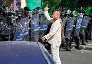 """Un an de la protestele din 10 august! """"Fantoma în alb"""" conduce și acum brigada de intervenție a Jandarmeriei! Cătălin-Răzvan Paraschiv a fost la un pas să ajungă general"""