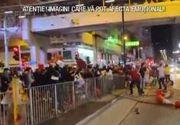 VIDEO | Violență și grevă generală în Hong Kong