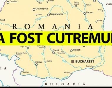 Cutremur cu magnitudinea 4,1, în judeţul Buzău