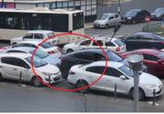 Gestul halucinant al unui șofer din București după ce i-a fost blocată mașina! Martorii au privit uimiți