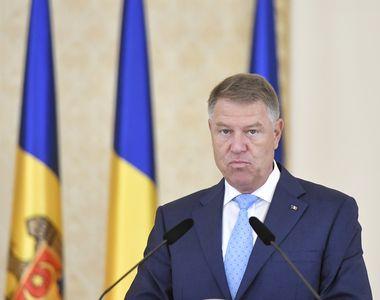 """Klaus Iohannis: """"PSD trebuie să plece"""""""