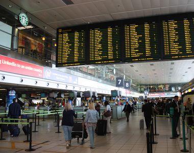 """Mesajul halucinant, în LIMBA ROMÂNĂ, pe aeroportul din Dublin! """"Daca esti..."""