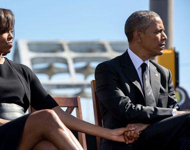 Michelle şi Barack Obama ar fi divorțat