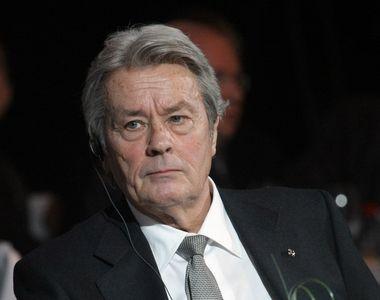 Alain Delon a suferit un accident cerebral