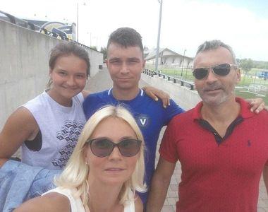 Copiii Ruxandrei Dragomir fac sport de mare performanță! Băiatul Filip joacă fotbal la...