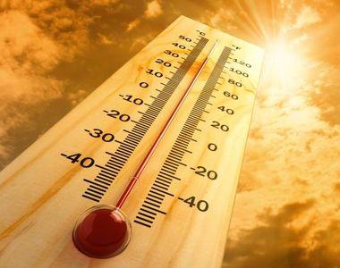 Val de căldură persistentă de astăzi până marţi: Temperaturile vor ajunge până la 38 de...
