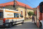 Accident de muncă la Timişoara: Doi muncitori care lucrau pe un stâlp s-au electrocutat; unul dintre ei a rămas agăţat la înălţime, inconştient