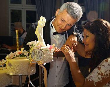 Prezentatoarea tv Oana Stancu și-a revăzut socrul la centenarul Jiului Petroșani FOTO