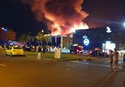 VIDEO | Incendiu de proporții uriase la un cunoscut club din Mamaia