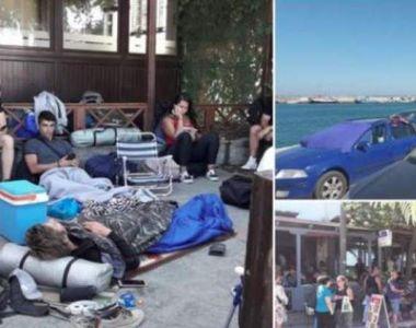 Român blocat pe insula Samothraki din Grecia, bătut de polițiști