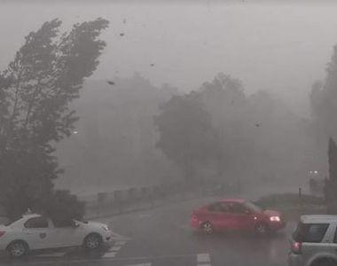 Cod galben de instabilitate atmosferică în cea mai mare parte a ţării, până joi...