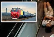 VIDEO | Elevi umiliți în trenul spre mare. Au dormit pe jos și au fost certați de controlorii CFR